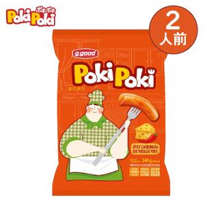 ポキポキスパイシーカルボナーラトッポギ(2人前)(賞味期限:21.10.22)