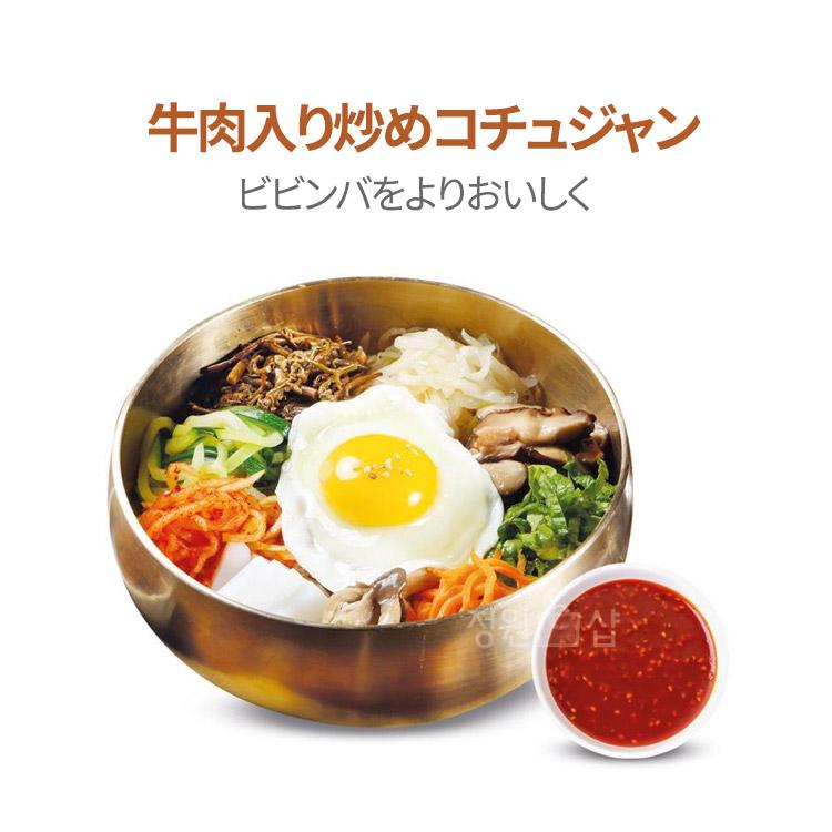 スンチャン 牛肉入炒め チューブコチュジャン 60g