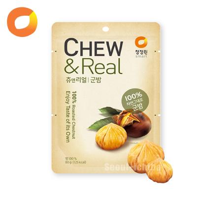 【清浄園】CHEW&Real焼き栗/80g