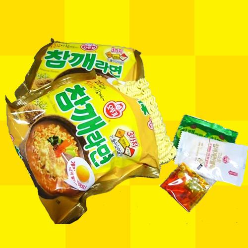 【オットギ】胡麻(チャムケ) ゴマ ラーメン115gx4個