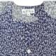 【祭り用品|本染め柄物鯉口シャツ】山道(やまみち)紺|特岡=平織り