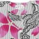 【祭り用品|本染め柄物鯉口シャツ】龍と桜(りゅうとさくら)白|刺子