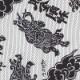 【祭り用品|本染め柄物鯉口シャツ】金剛力士(こんごうりきし)白黒刺子