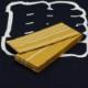 【織角帯|綿献上】献印-4■黄色の献上柄■角帯の結び方ガイド付き