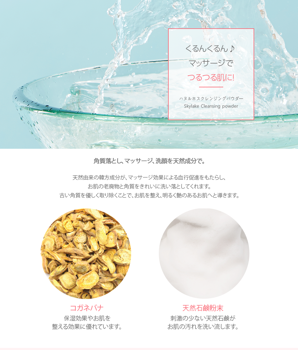 【10%OFF】 クレンジングパウダーマイルドスキン 45g