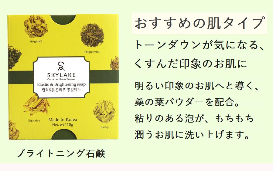 今ならお試し価格 990円(税別)210円off ブライトニング石鹸 通常価格1200円(税別)