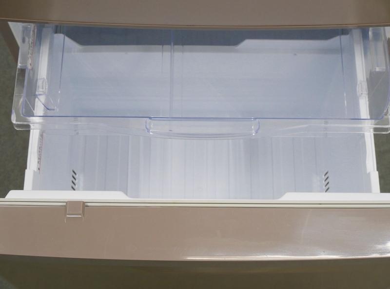 三菱製3ドア/2016年式/335L/ノンフロン冷蔵冷凍庫/MR-C34Z-P●【2122513】