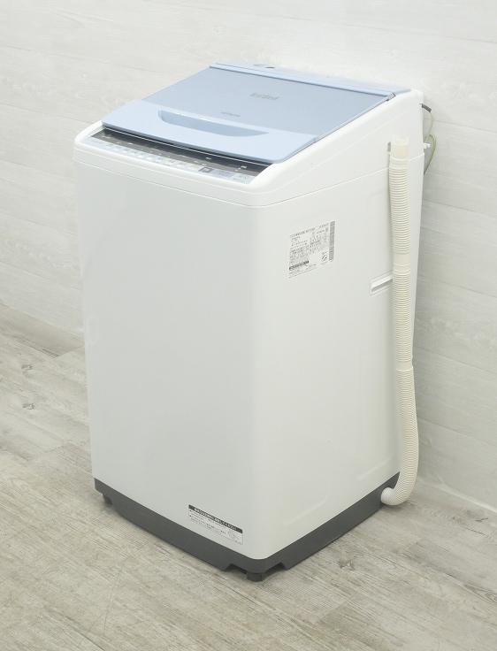 日立製/2017年式/7kg/全自動洗濯機/BW-V70B●◆