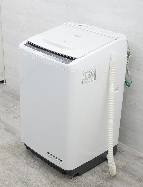 日立製/2017年式/7kg/全自動洗濯機/BW-V70A◆