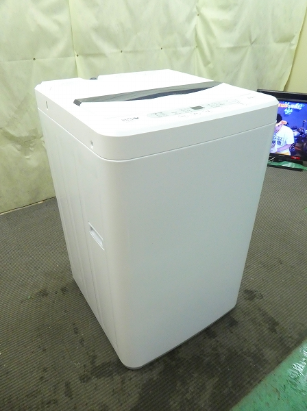 【2101725】 ヤマダ電機/2019年式/6Kg/全自動洗濯機 YWM-T60A1