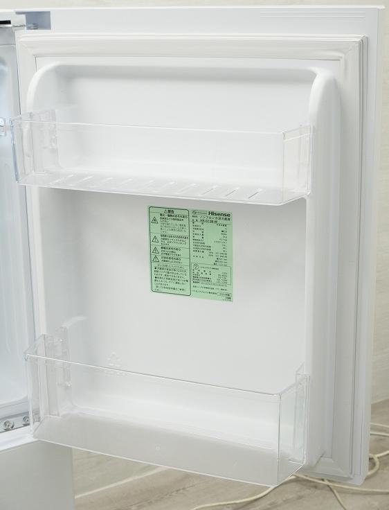 ハイセンスジャパン製/2020年式/134L/冷蔵冷凍庫/HR-G13B-W●◆