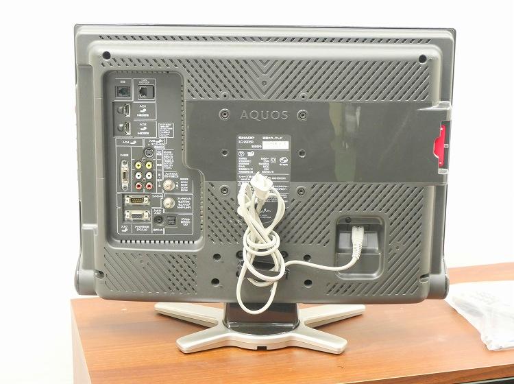 シャープ製/2009年式/20型/地上・BS・110度CSデジタル液晶テレビ /LC-20D50