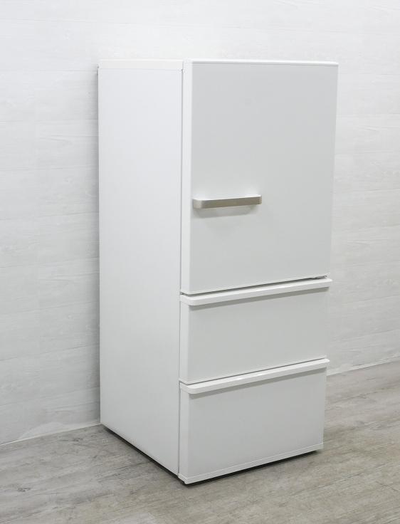 アクア製3ドア/2020年式/272L/ノンフロン冷蔵冷凍庫/AQR-27J(W)