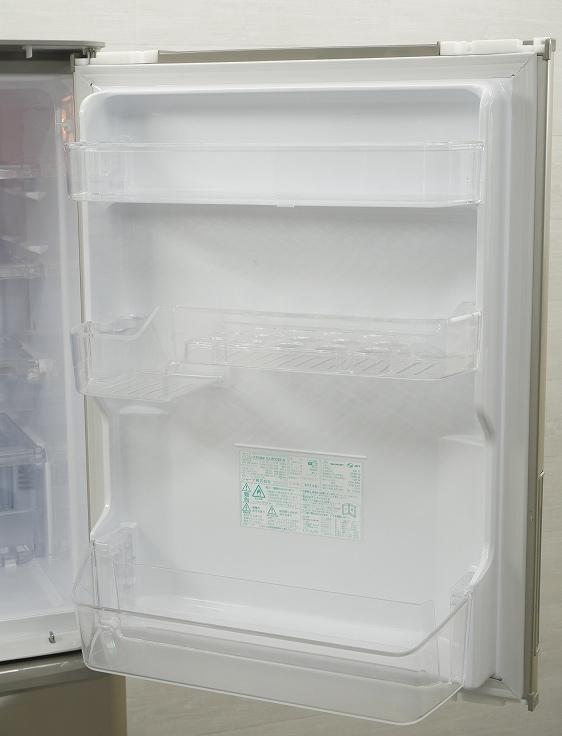 シャープ製3ドア/2016年式/350L/ノンフロン冷蔵冷凍庫/SJ-W352B-N●◆