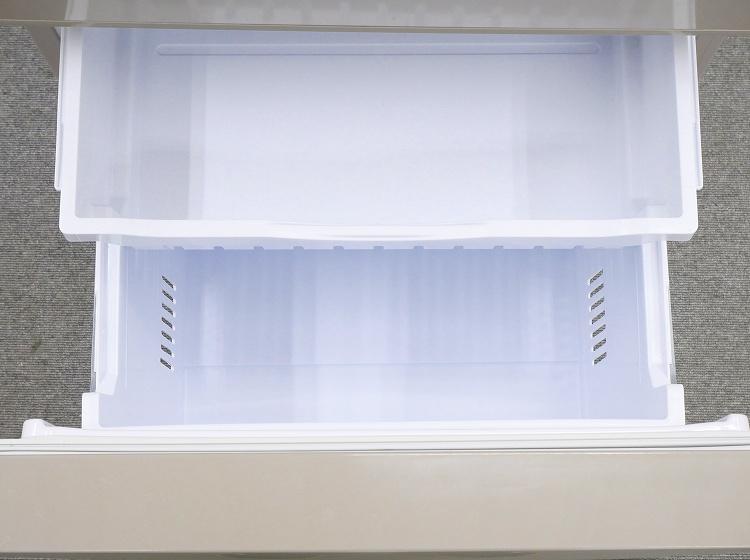 日立製3ドア/2017年式/265L/ノンフロン冷蔵冷凍庫/R-27GV(T)●