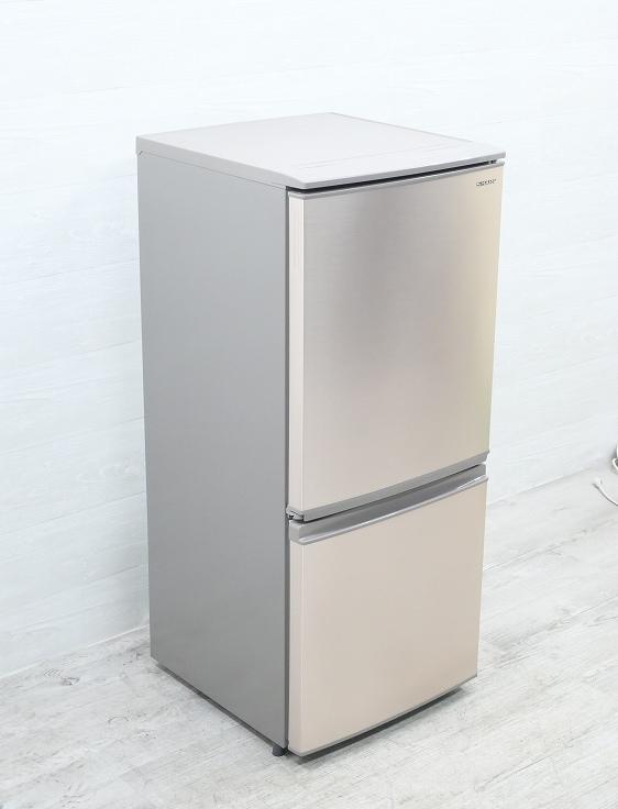 シャープ製/2019年式/137L/冷蔵冷凍庫/SJ-D14E-N●◆