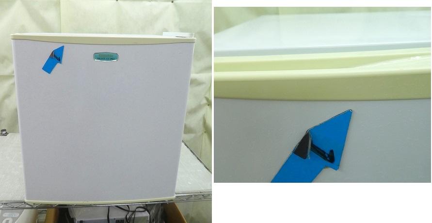 ●わけあり● Elabitax製/2012年式/46L/冷蔵庫/ER-513●【2101319】