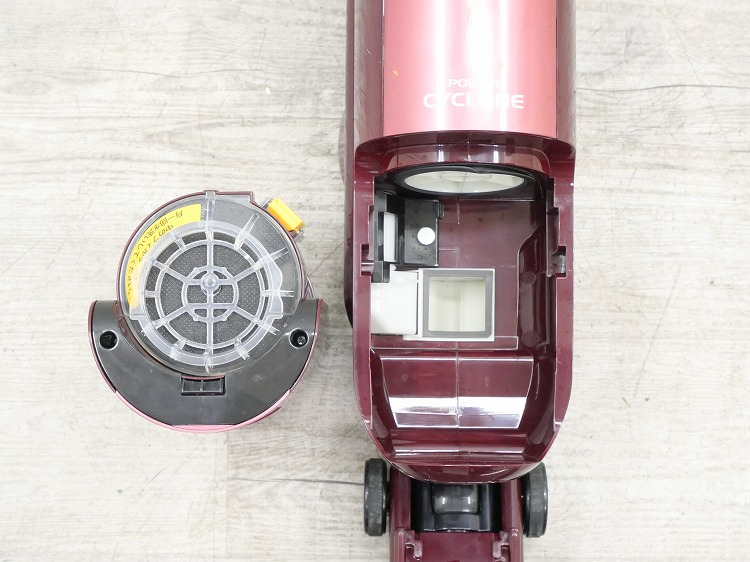シャープ製/2013年式/電気掃除機/EC-ST20-R