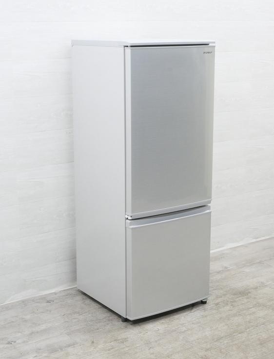 シャープ製/2019年式/167L/冷蔵冷凍庫/SJ-D17E-S