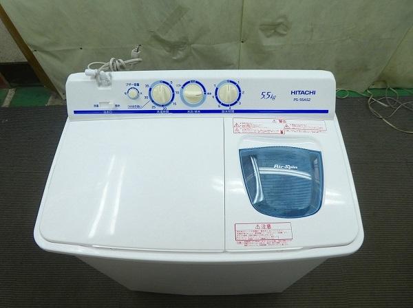 日立製/2018年式/5.5Kg/二層式洗濯機/PS-55AS2