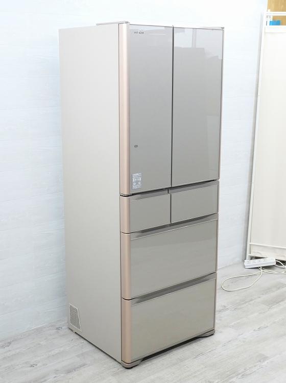 ☆ニシダ様予約☆日立製6ドア/2017年式/475L/ノンフロン冷蔵冷凍庫/R-XG4800G(XN)●