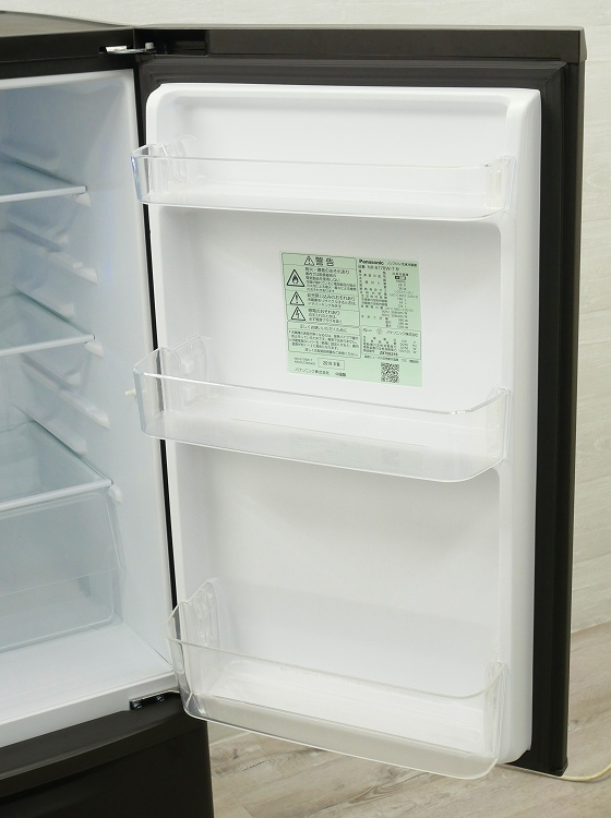Panasonic製/2019年式/168L/冷蔵冷凍庫/NR-B17BW-T●