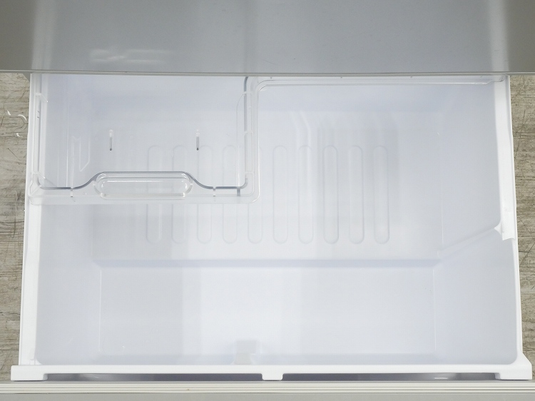 シャープ製3ドア/2017年式/350L/ノンフロン冷蔵冷凍庫/SJ-W351C-S◆