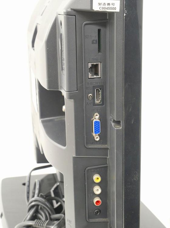 三菱電機製/2010年式/19型/地上・BS・110度CSデジタルハイビジョン液晶テレビ /LCD-19MX40