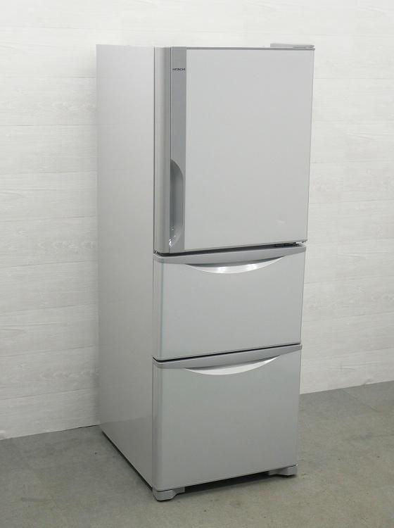 日立製3ドア/2015年式/265L/ノンフロン冷蔵冷凍庫/R-27EV(S)●【3010811】
