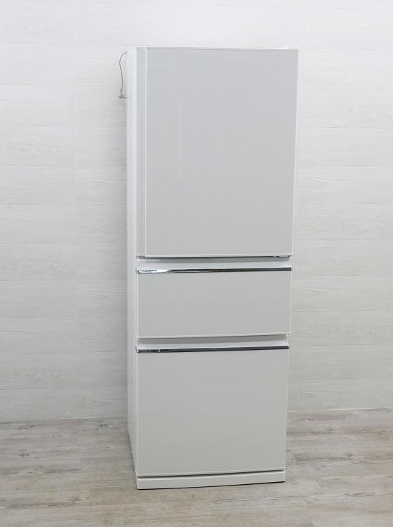三菱製3ドア/2020年式/ 330L/ ノンフロン冷蔵冷凍庫/MR-CX33E-W●