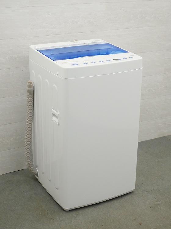 Haier製/2019年式/5.5kg/全自動洗濯機/JW-C55CK●【3010822】
