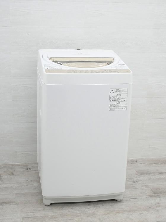 東芝製/2016年式/6kg/全自動洗濯機/AW-6G3