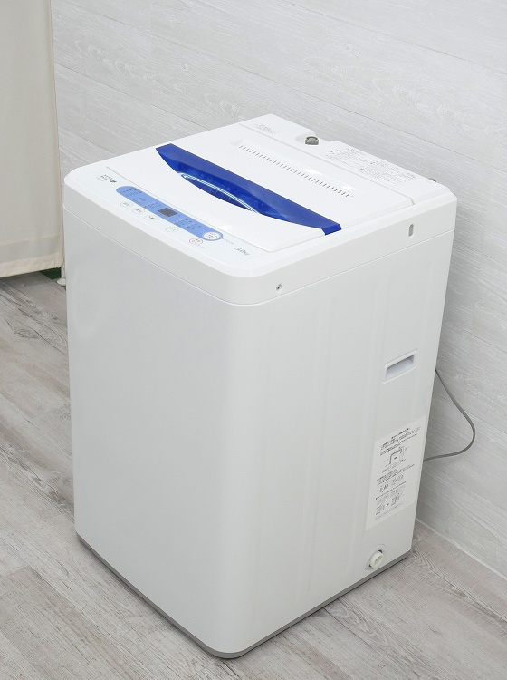 ヤマダ電機製/2017年式/5Kg/全自動洗濯機/YWM-T50A1●