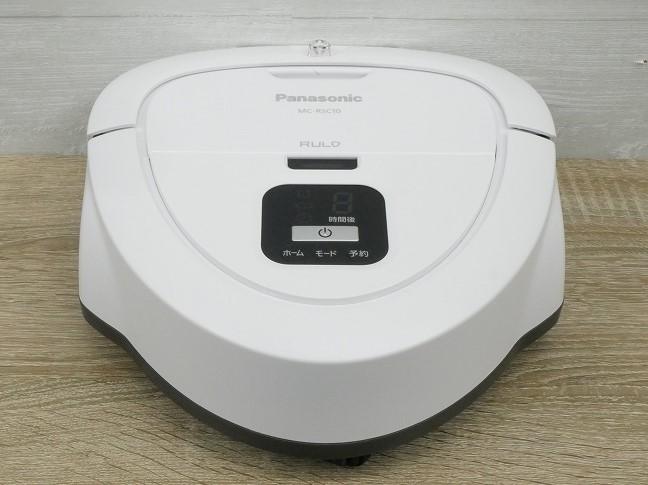 Panasonic製/2019年式/ロボット掃除機/MC-RSC10-W●