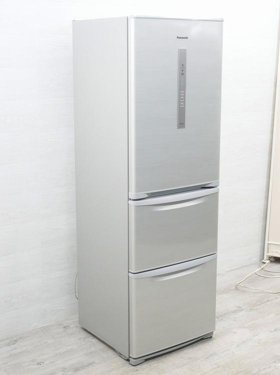 Panasonic製3ドア/2015年式 /365L/冷蔵冷凍庫/NR-C37DM-S●