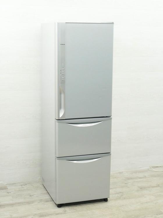 日立製3ドア/2014年式/315L/ノンフロン冷蔵冷凍庫/R-K320EV(S)●