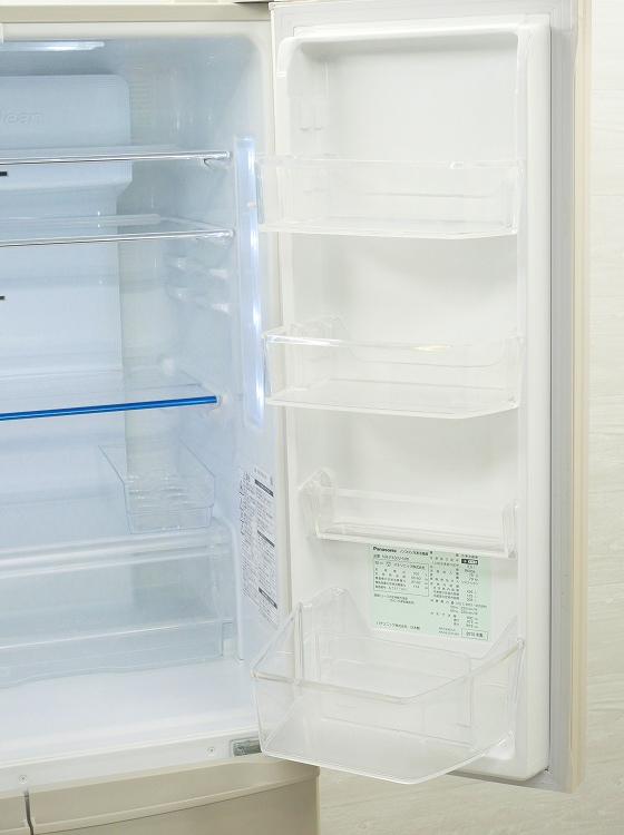 Panasonic製6ドア/2015年式/ 426L/ノンフロン冷蔵冷凍庫/NR-F430V-N