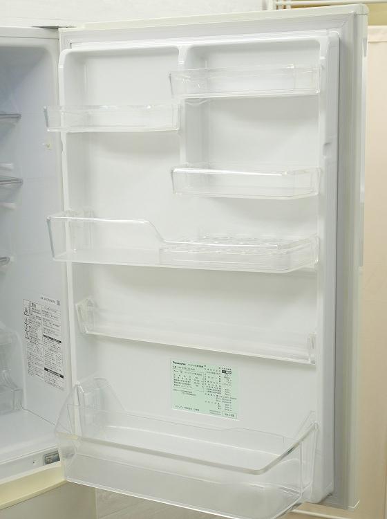 Panasonic製5ドア/2014年式/ 426L/ノンフロン冷蔵冷凍庫/NR-ETR438-W●