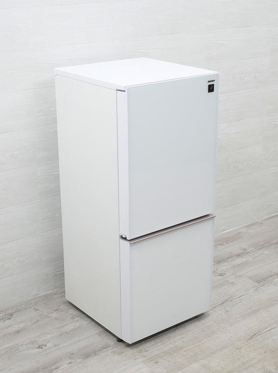 シャープ製/2018年式/137L/冷蔵冷凍庫/SJ-GD14D-W●