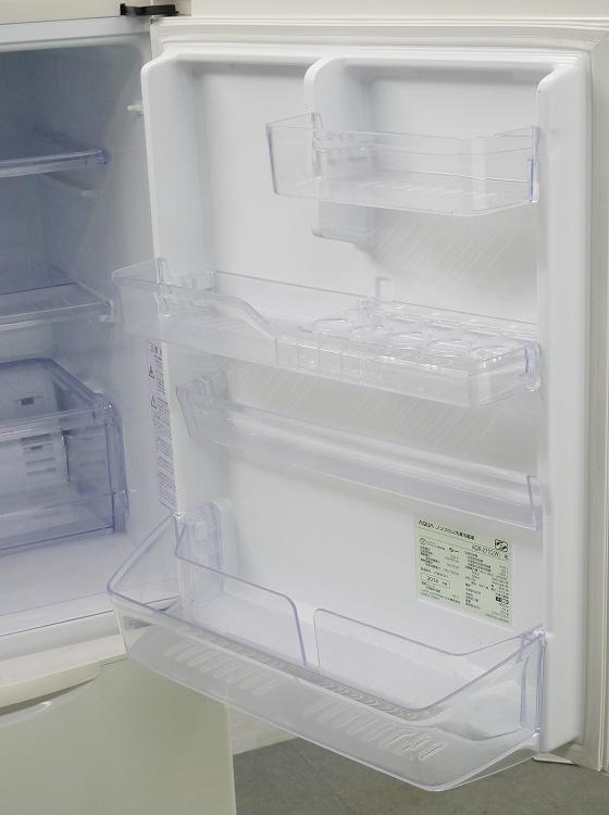 アクア製3ドア/2014年式/272L/ノンフロン冷蔵冷凍庫/AQR-271C(W)●【3010913】