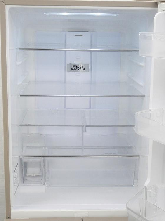 日立製5ドア/2014年式/415L/ノンフロン冷蔵冷凍庫/R-K42D(T)●【3010915】