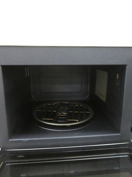 無印良品製/2017年式/出力600W/オーブンレンジ/MJ-OR15A●【2111431】