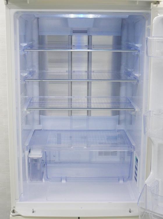 シャープ製5ドア/2013年式/ 424L/ノンフロン冷蔵冷凍庫/SJ-PW42X-W●【3010917】