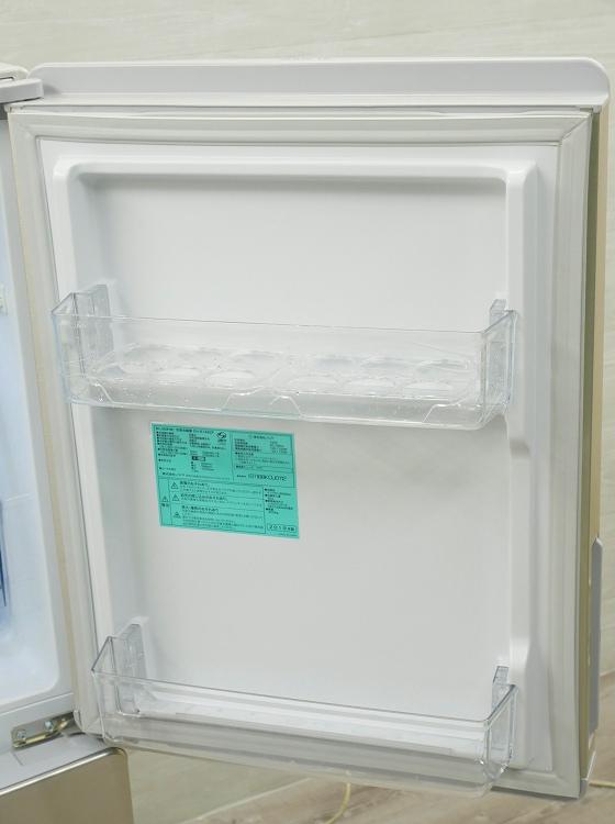 ノジマ/2019年式/148L/冷凍冷蔵庫/EH-R1482F●
