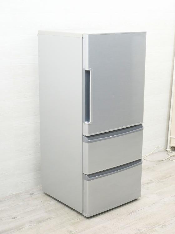 アクア製3ドア/2016年式/272L/ノンフロン冷蔵冷凍庫/AQR-271E(S)●