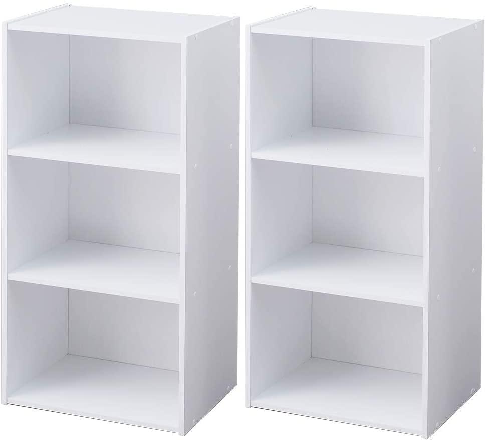 【新品】アイリスオーヤマ/収納ボックス-ホワイト(2個セット)