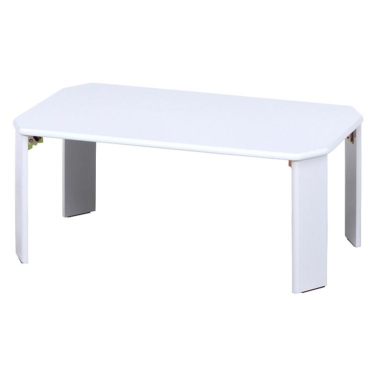 【新品】不二貿易/テーブル-ホワイト