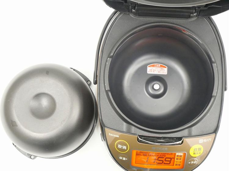 タイガー製/2017年式/1.0L 5.5合/IH炊飯器/JKT-J100