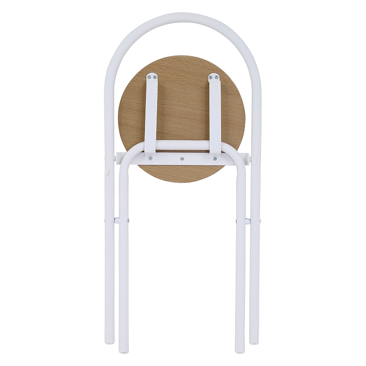 【新品】不二貿易/TH3013/折り畳みテーブルチェアセット-ホワイト