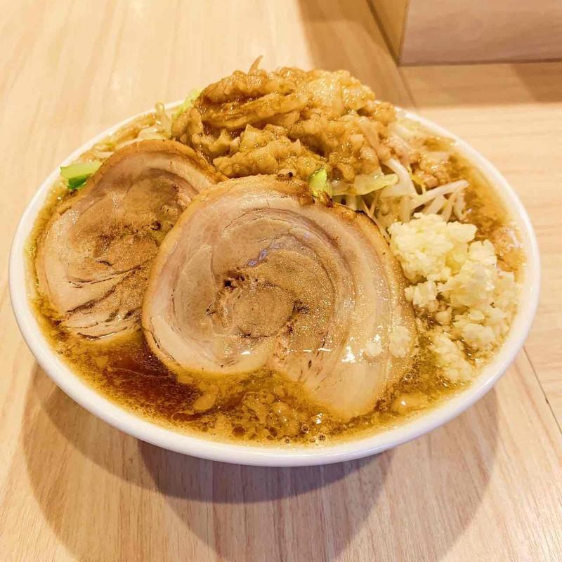 麺屋 音 音郎 Wチャーシュー 1食